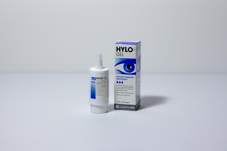 HyloGel – Intesivt smørende øyedråper 10ml